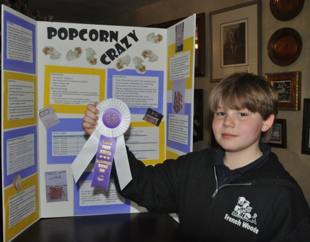science fair grand prize kameron rie badgers 2013 school science fair grand prize project