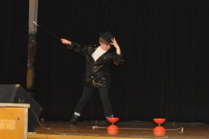 Kameron Badgers at Wallace Elementary School's WE'VE Got Talent Show May 3 2013