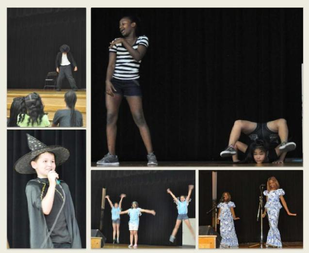 Wallace Elementary School Talent Show montage 1