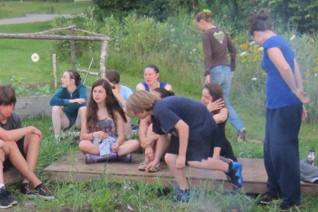 Circus Smirkus Session IV campfire
