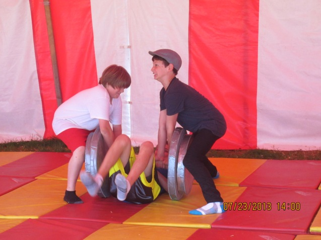 Kameron Badgers Circus Smirkus Sessin IV 2013