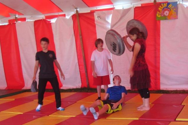 Kameron Badgers Circus Smirkus Camp Session IV 2013