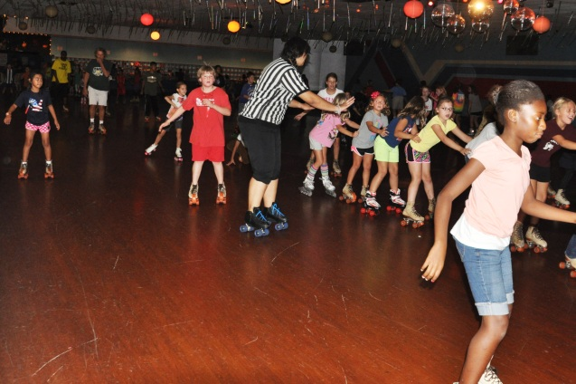 Wallace Elementary School Skate Night 2013