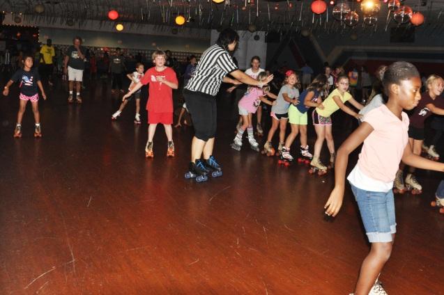 Wallace Elementary School Skate Night 2013