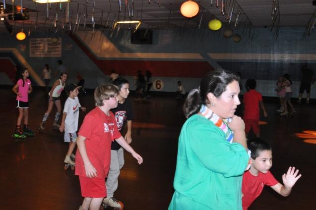 Wallace Elementary Skate Night 2013