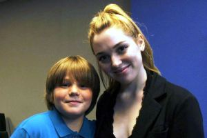 Jennifer Stone and Kameron Badgers