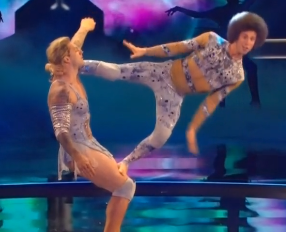 The KriStef Brothers are amazing acrobats, and they're hilarious, too.