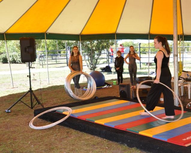 Lone Star Circus Performers