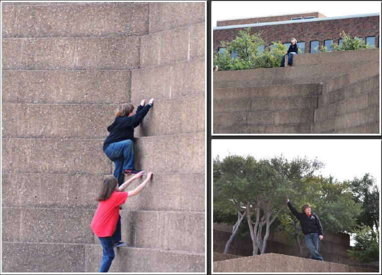 Fort Worth Water Gardens Concrete Waterfalls Kameron Rie Badgers