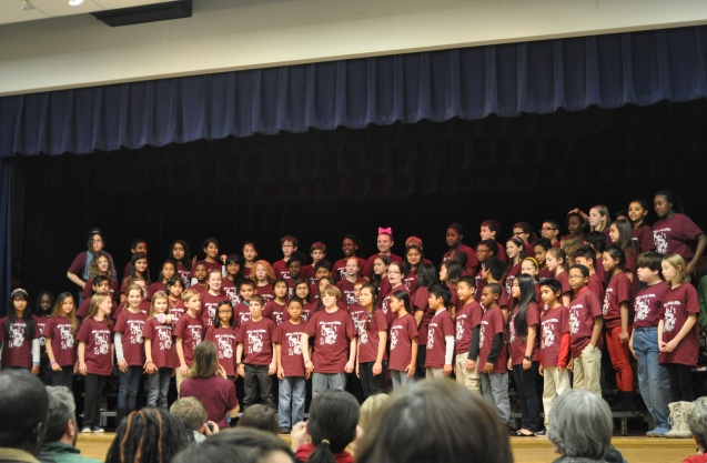 Wallace Elementary School Holiday Choir Concert 2013
