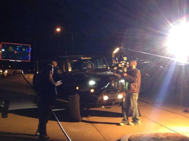 On set photos Ghede Origins
