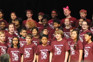 Fifth and Sixth Grade Choir Wallace Elementary School