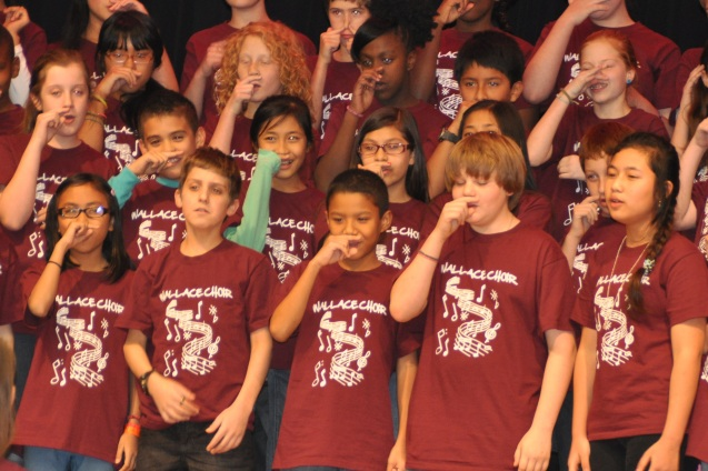 Wallace Elementary School Concert 2013