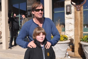 Kevin Sorbo and Kameron Badgers