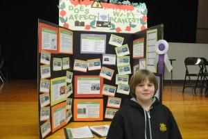 6th Grade Science Project 2014 School Grand Prize Winner