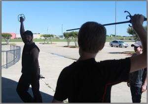 John Cann cropped stunt workshop image