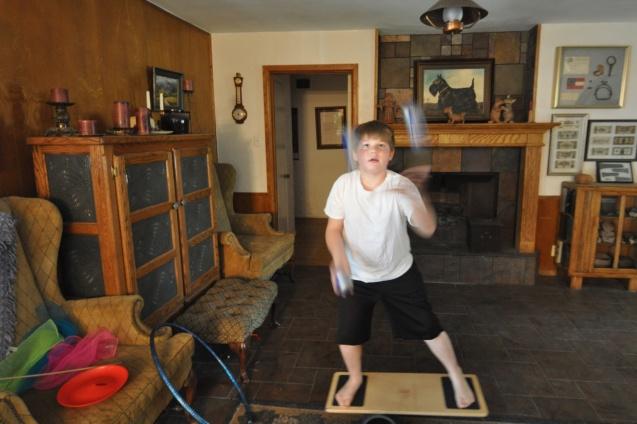 Juggling practice