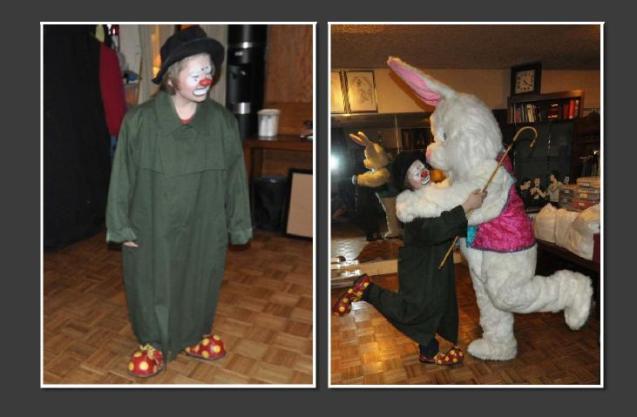 Clowns Nic Rainone (Zerp) & Kameron Badgers