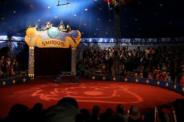 Circus Smirkus Big Top Tent