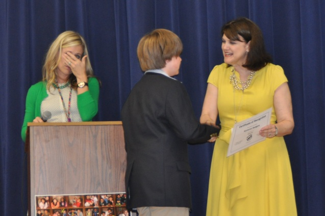 Wallace Elementary School 6th grade graduation 2014