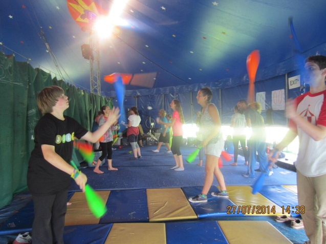 Circus Smirkus Session IV camp photos 2014