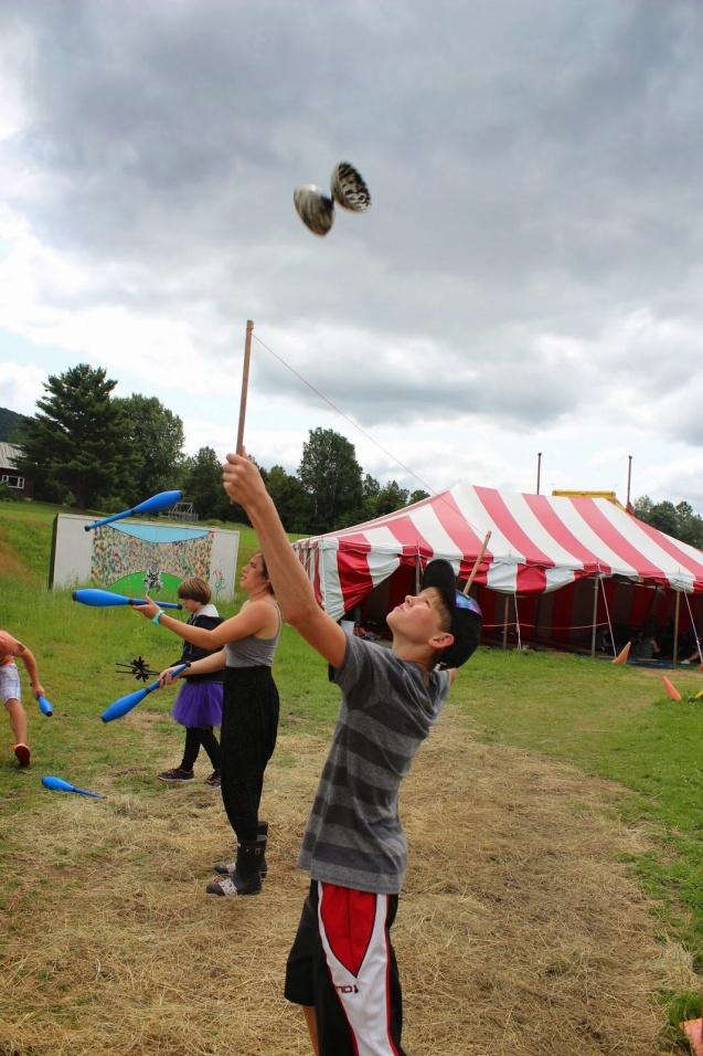 Circus Smirkus Camp Session IV 2014