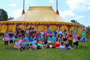 Tutu Tuesday at Circus Smirkus Camp Session IV 2014