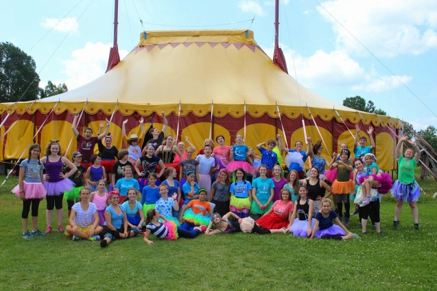 Tutu Tuesday at Circus Smirkus Camp Session IV 2014