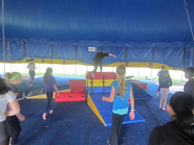 Circus Smirkus Session IV 2014 photos
