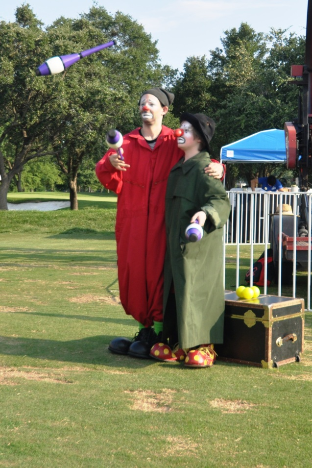 Badger & Zerp Two Handed Juggling Pair