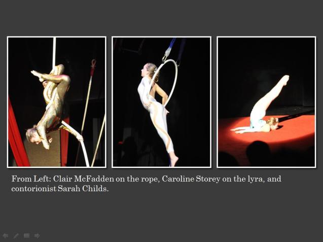 Lone Star Circus Cha Cha Cha May 2015