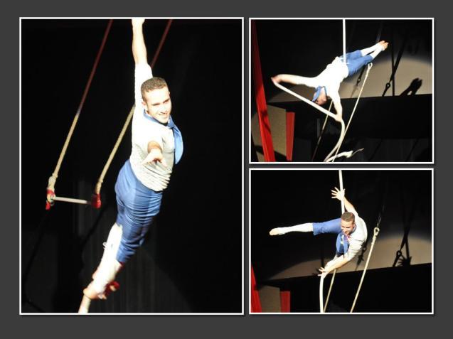Asaf Moore Lone Star Circus Aerial Rope