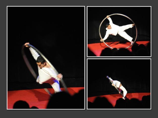 Wesley Mathewson Lone Star Circus Cyr Wheel