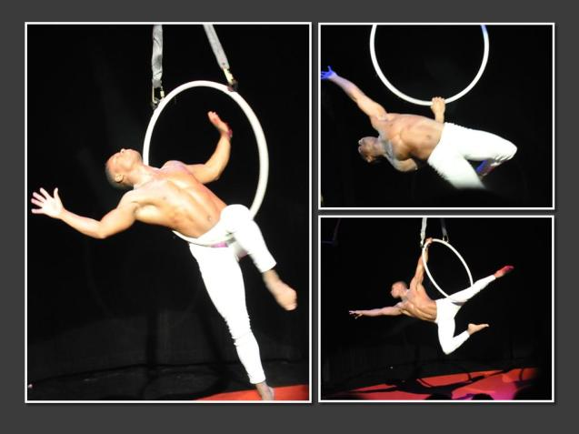 Frank Chapman Lone Star Circus Aerial Hoop - Lyra