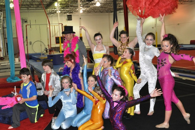 Lone Star Circus Performers on WFAA TV May 5 2015