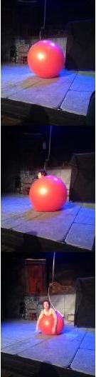 New York Goofs Tiffany Riley Slappy the Clown's Balloon Trick