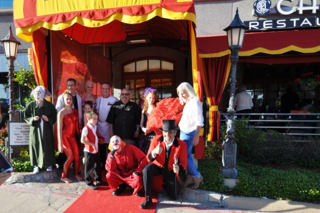 Lone StarCircus at Cadot French Restaurant's 7th Anniversary Gala