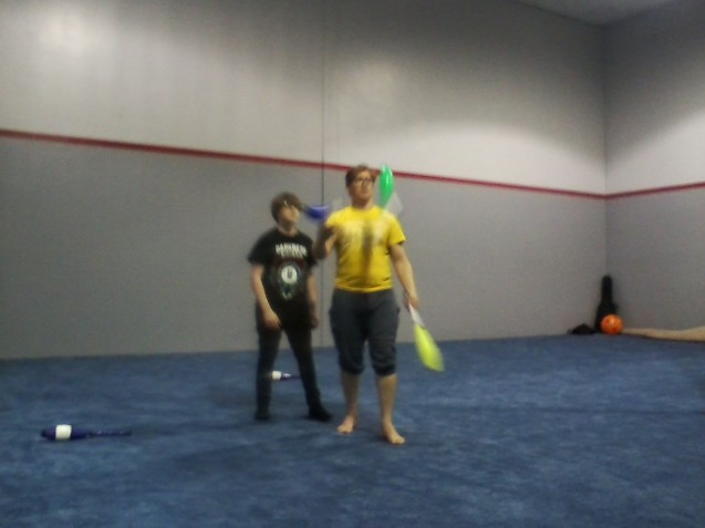 Kameron Badgers and Julio Furlan Lone Star Circus