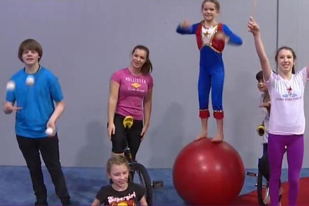 Lone Star Circus School Students
