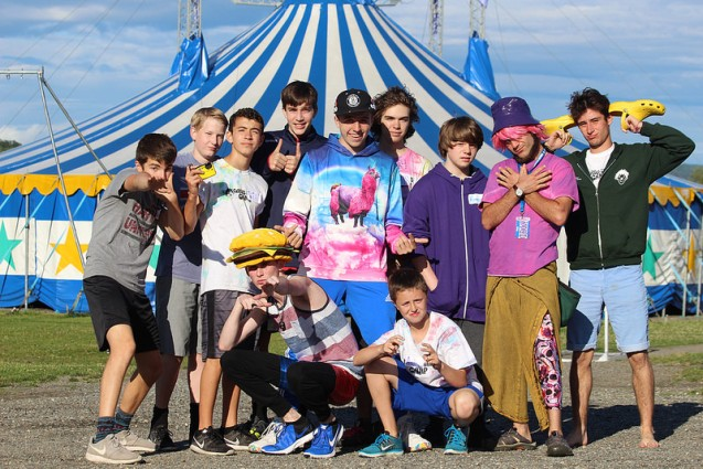 Circus Smirkus Session V 2016 Boys Ensemble