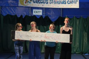 Clowning around in Opening Act Circus Smirkus Session V 2016