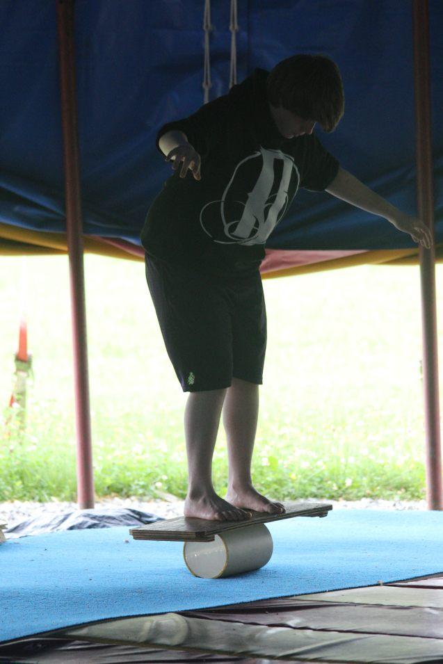 Kaeron Badgers at Circus Smirkus 2016