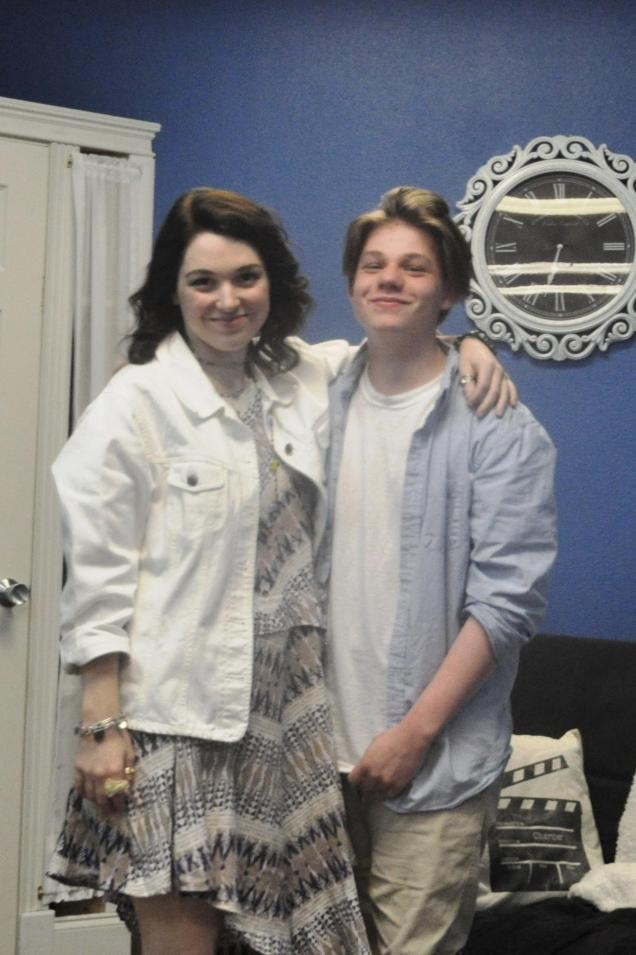 Kameron Badgers and Jennifer Stone June 2017