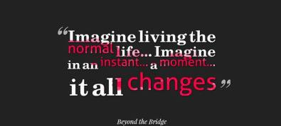 Beyond the Bridge Quote Banner